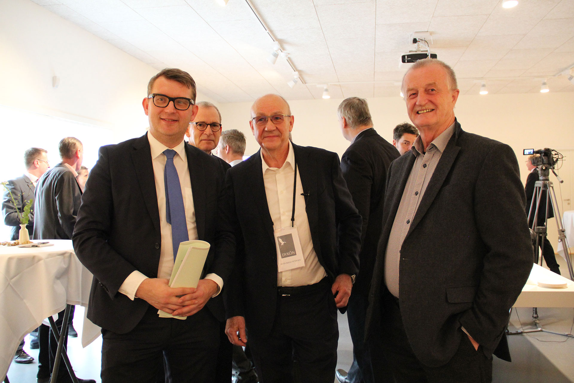Troels Lund Poulsen, Lars Larsen og Peter Bøgh Petersen