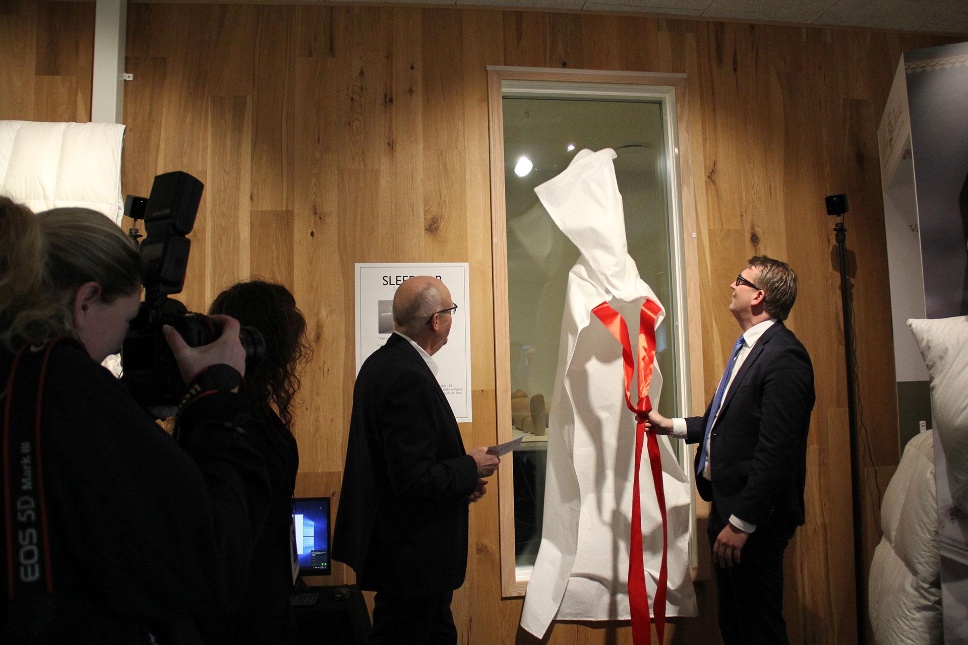 Troels Lund Poulsen åbner Sleep Lab