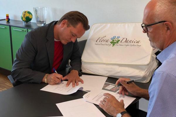 Flora Danica er blevet sponsor hos DHS