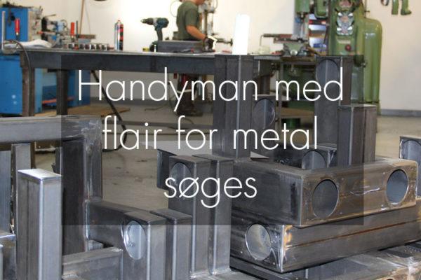 Handyman søges